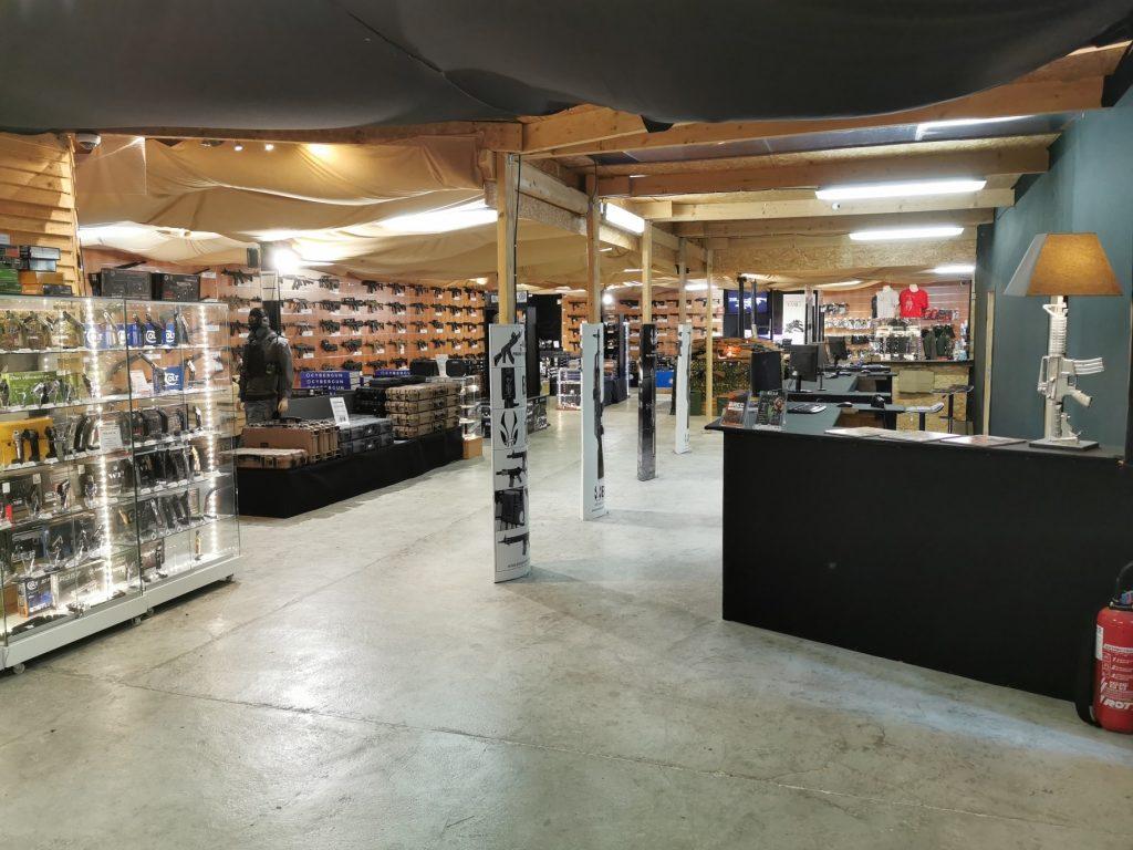 vue accueil magasin